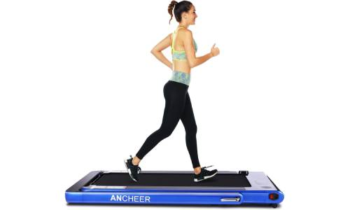 ANCHEER 2 in1 Folding Treadmill